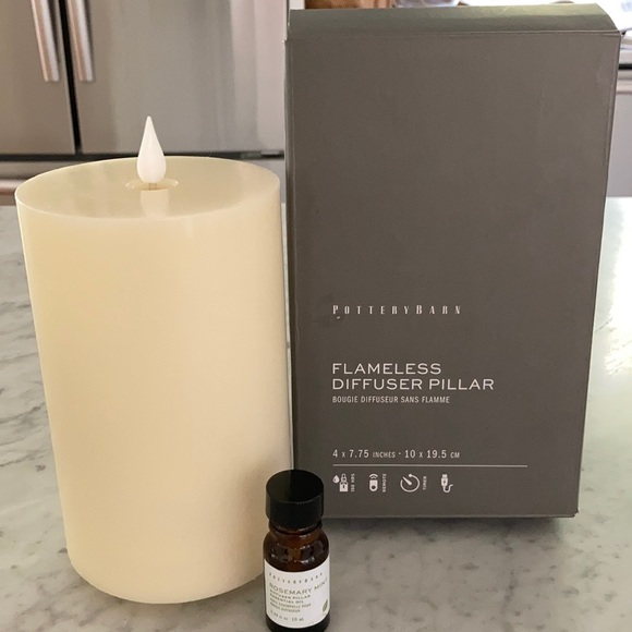 Pottery Barn Flameless Diffuser Candle